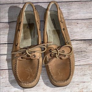 Sperry Boat Shoes Tan 8.5